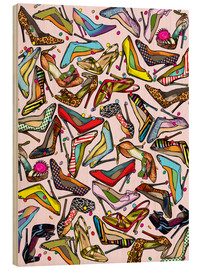 Tableau en bois  Shoe Crazy - Lewis T. Johnson