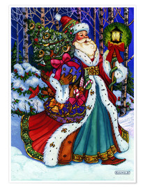Poster  Father Christmas - Lewis T. Johnson