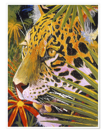 Poster  Jaguar jungle - Graeme Stevenson