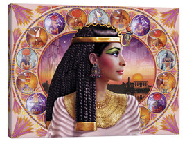 Tableau sur toile  Cleopatra - Andrew Farley