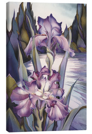 Tableau sur toile  Lady of the lake - Jody Bergsma