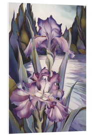 Tableau en PVC  Lady of the lake - Jody Bergsma