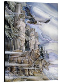 Tableau en aluminium  The three watchmen - Jody Bergsma
