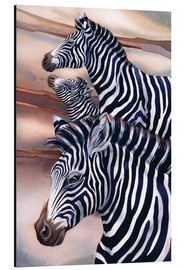 Tableau en aluminium  Wild At Heart - Jody Bergsma