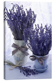 Toile  Lovely Lavender - Simon Kayne