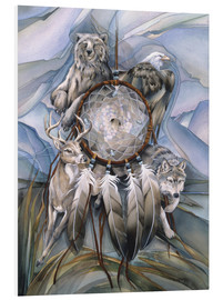 Tableau en PVC  Dream catcher - Jody Bergsma