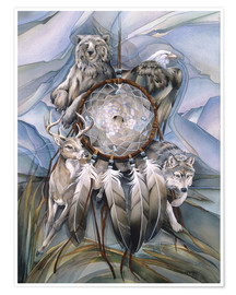 Poster  Dream catcher - Jody Bergsma