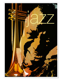 Poster  Jazz New Orleans - colosseum