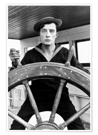 Poster  THE NAVIGATOR, Buster Keaton, Kathryn McGuire