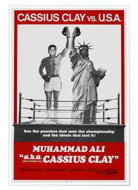 Poster  A.K.A. Cassius Clay, Muhammad Ali (anglais)