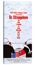 Toile  DR. STRANGELOVE OR: HOW I LEARNED TO STOP WORRYING AND LOVE THE BOMB