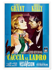 Poster  TO CATCH A THIEF (CACCIA AL LADRO), Grace Kelly, Cary Grant