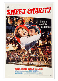 Poster  Sweet Charity (anglais)