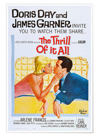 Poster THE THRILL OF IT ALL, Doris Day, James Garner