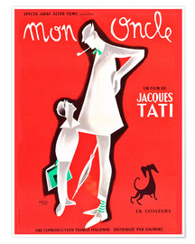 Poster  My Uncle, Jacques Tati