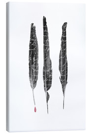 Toile  The Writer's feathers - Sybille Sterk