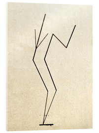 Verre acrylique  Analytical drawing after photos of dancing?.. - Wassily Kandinsky