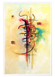 Poster  Aquarelle n° 326 - Wassily Kandinsky