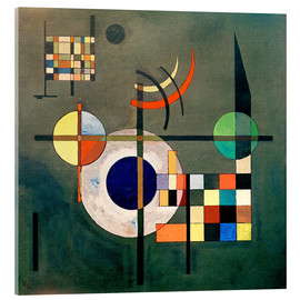 Verre acrylique  Counterweights - Wassily Kandinsky
