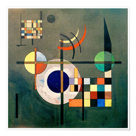 Poster  Contrepoids - Wassily Kandinsky