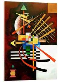 Verre acrylique  Top and Left - Wassily Kandinsky