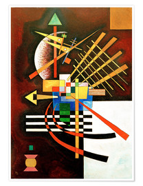 Poster  Top and Left - Wassily Kandinsky