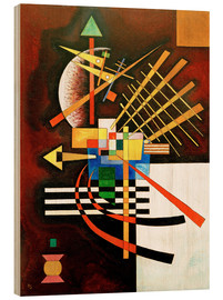 Bois  Top and Left - Wassily Kandinsky