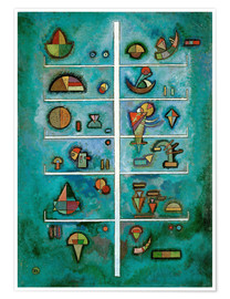 Poster  Étages - Wassily Kandinsky