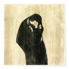 Edvard Munch - The Kiss IV