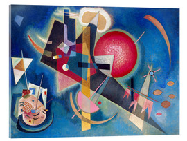 Verre acrylique  In the Blue - Wassily Kandinsky