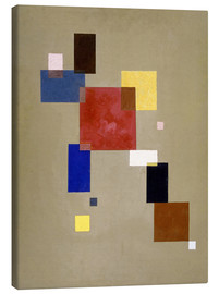 Tableau sur toile  13 Rectangles - Wassily Kandinsky