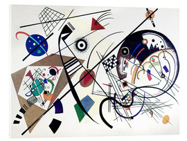 Verre acrylique  Continuous Line - Wassily Kandinsky