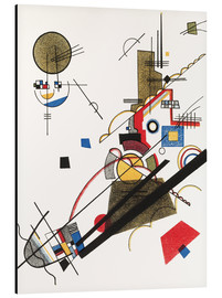 Alu-Dibond  Happy Ascent - Wassily Kandinsky