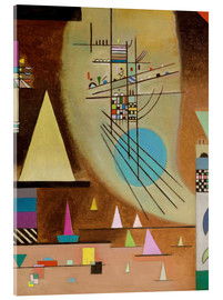 Verre acrylique  Falling silent - Wassily Kandinsky