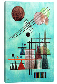 Toile  Across and Up - Wassily Kandinsky