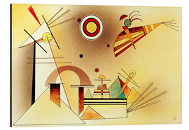 Alu-Dibond  Reduced Weight - Wassily Kandinsky