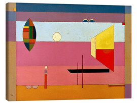 Toile  Cool stripes - Wassily Kandinsky