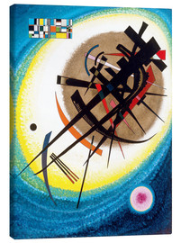 Toile  In the bright oval - Wassily Kandinsky