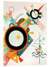 Verre acrylique  Arrowhead Picture - Wassily Kandinsky