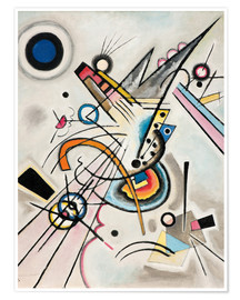Poster  Diagonal - Wassily Kandinsky