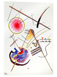 Verre acrylique  Composition - Wassily Kandinsky