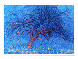 Poster  The Red Tree - Piet Mondrian