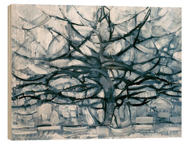 Piet Mondrian - Gray tree