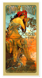Poster  Carriage Dealers, Philadelphia - Alfons Mucha