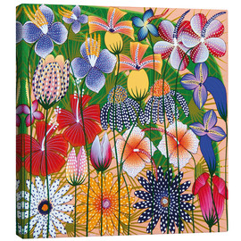 Tableau sur toile  Flower miracle of the jungle - Wasia