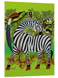Tableau en PVC  Clean Zebra in - Noel