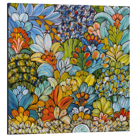 Tableau en aluminium  Colorful foliage - Mzuguno