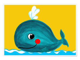 Little Miss Arty - Frida, the friendly whale
