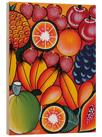 Tableau en bois  Exotic fruit variation - Chilambo