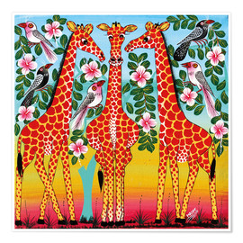 Poster The giraffes meeting
